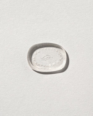 Steadfast Intaglio Seal top view carving side down