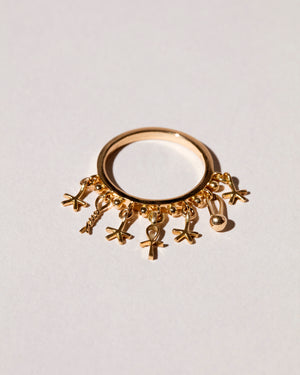 Talisman Ring flat view