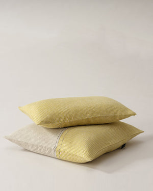 Teixidors Cushion Cover D'Abord in Mustard, Rectangle Pillowcase Cover