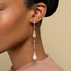The Future Moonstone Drop Earrings