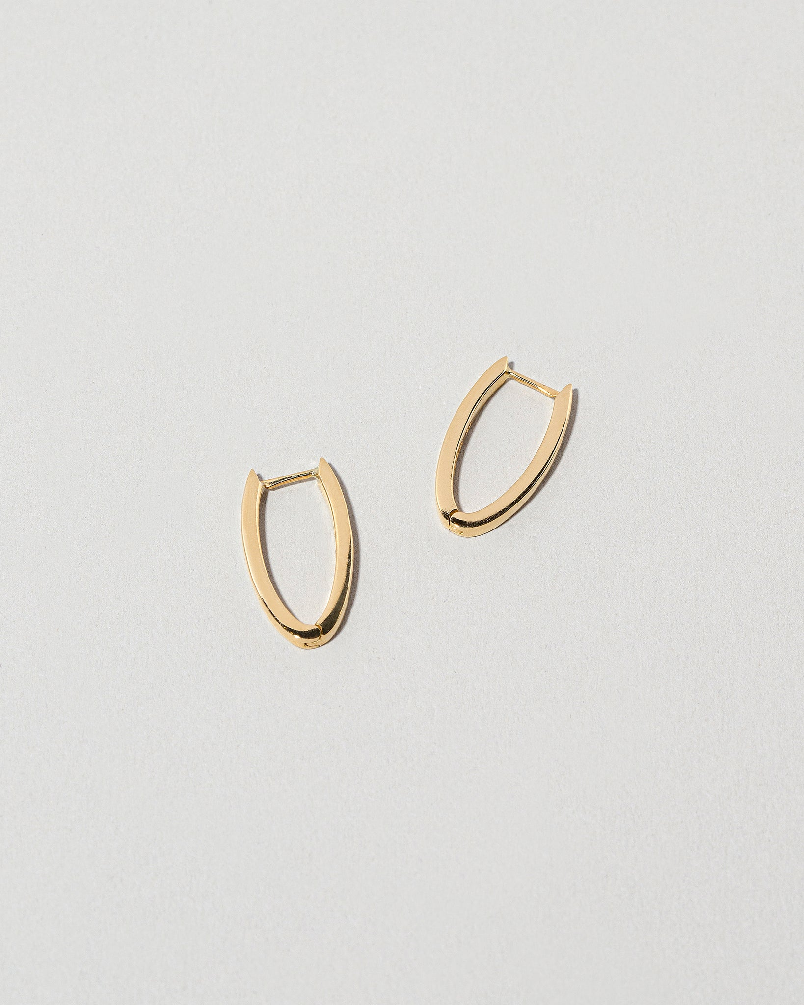 Tiny Loop Hoops side view