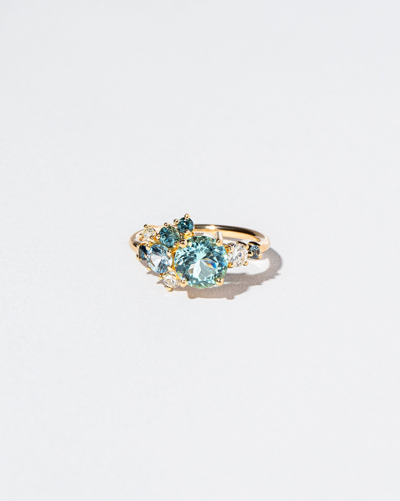 Tourmaline Vega Ring front facing