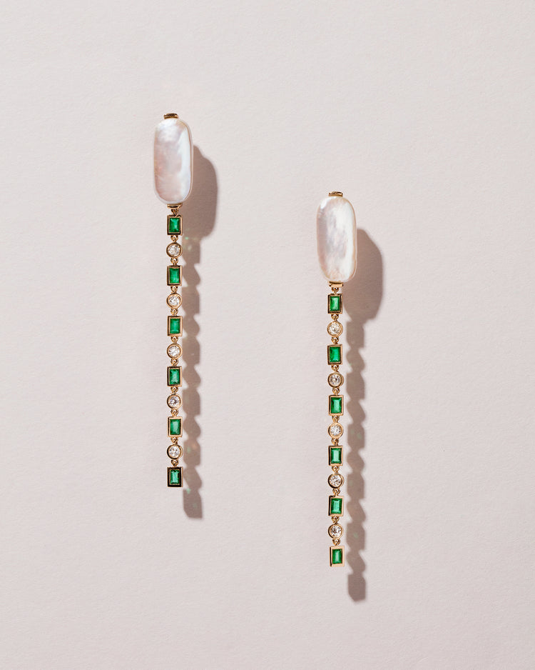 Wisdom Earrings front view