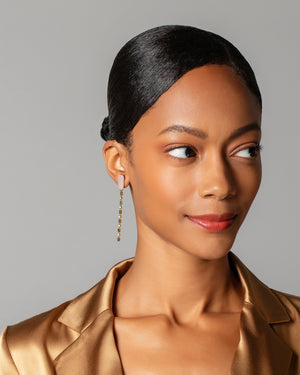Wisdom Earrings on model