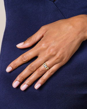 LeWitt Ring worn on model