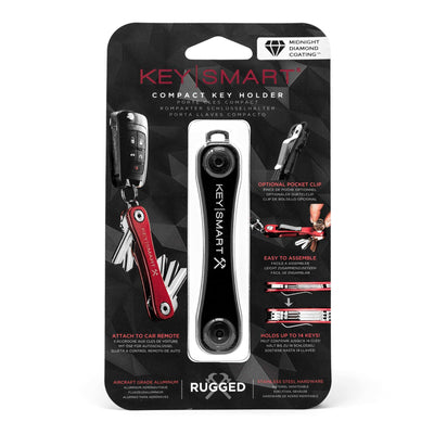 KeySmart Rugged Midnight Diamond