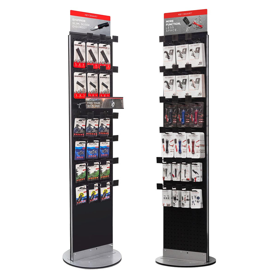 Pre-loaded KeySmart Floor Spinner Display