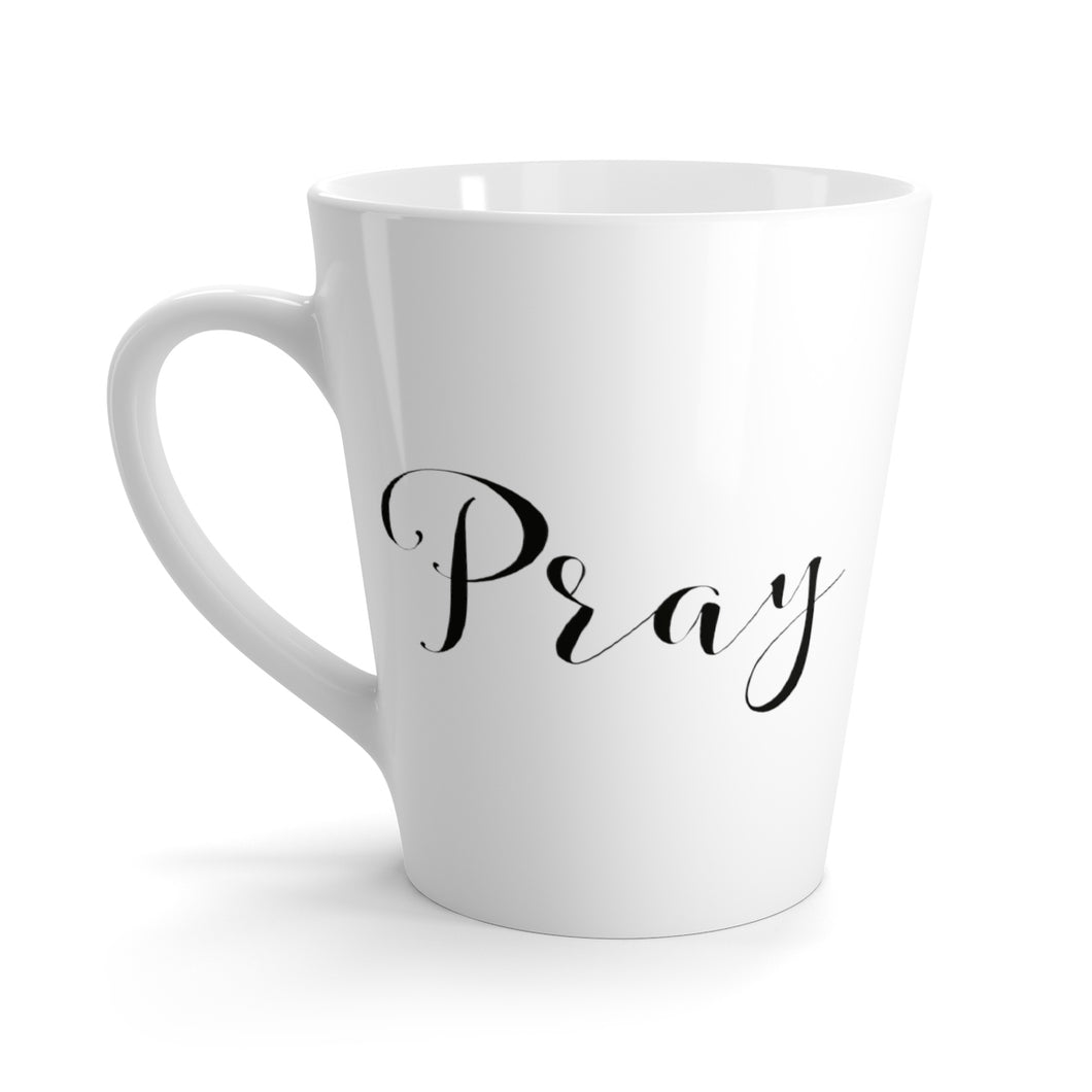The Pray Coffee Cup