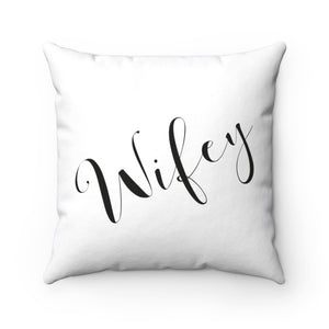 Wifey Square Pillow