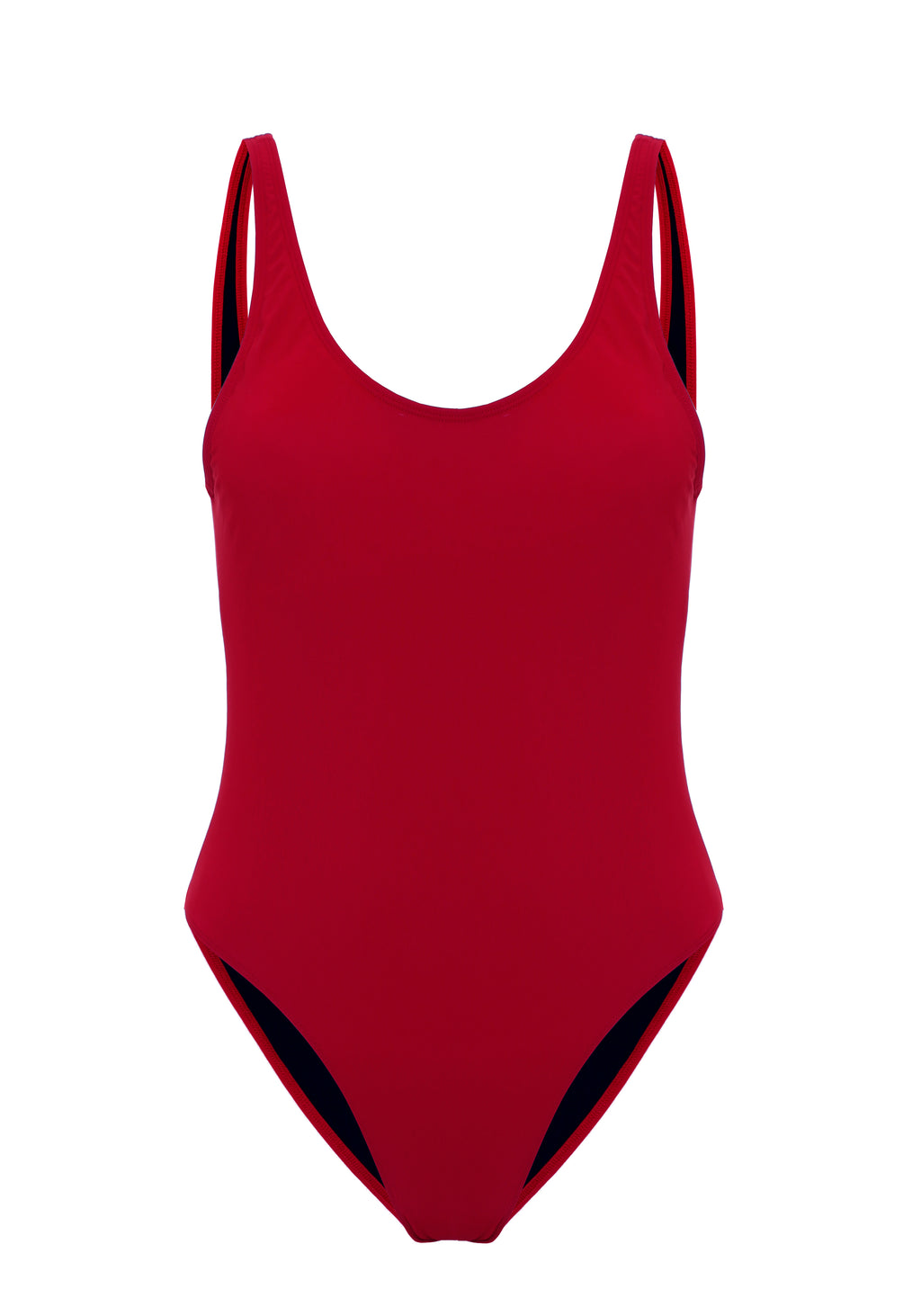 Deep Red Swimsuit