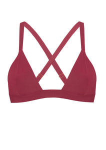 Jezebel Red Wine Top