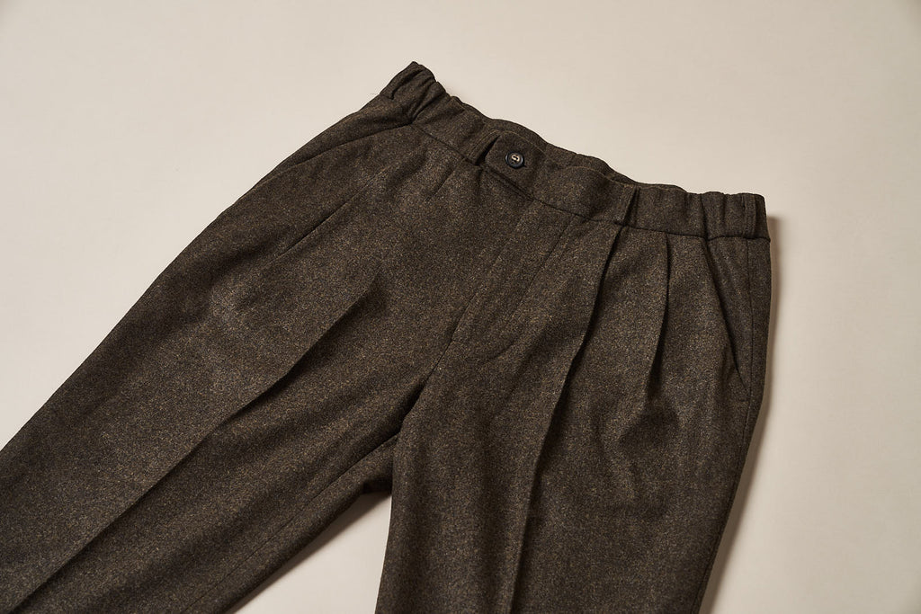 T010 Easy Trousers - Dark Forest Green