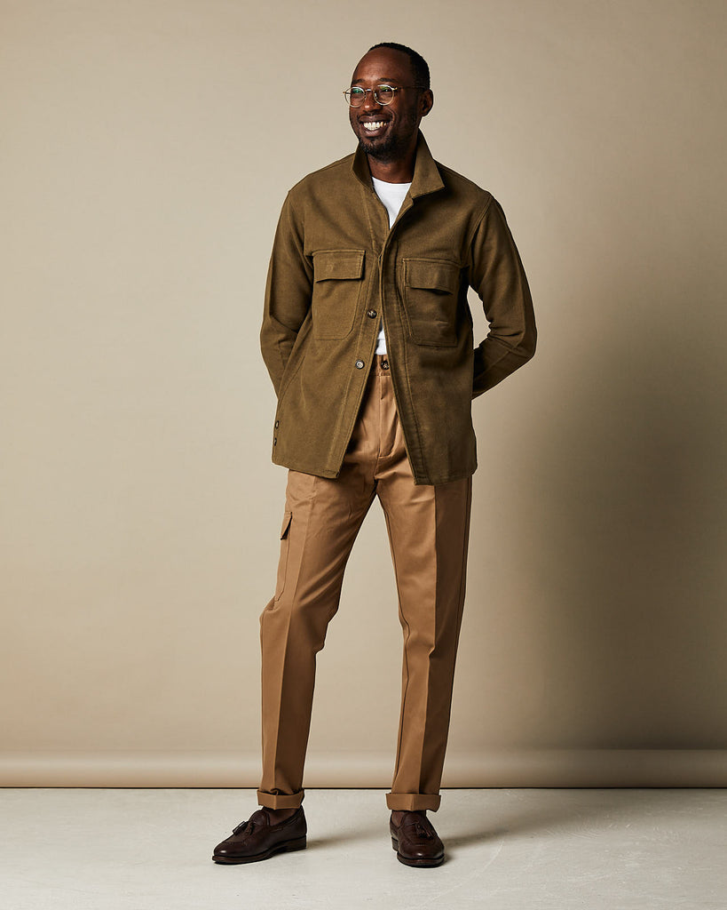 WS50 Work Shirt - Light Olive