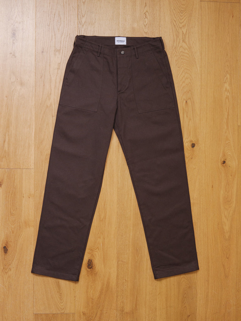 T107 Fatigue Pants - Chocolate