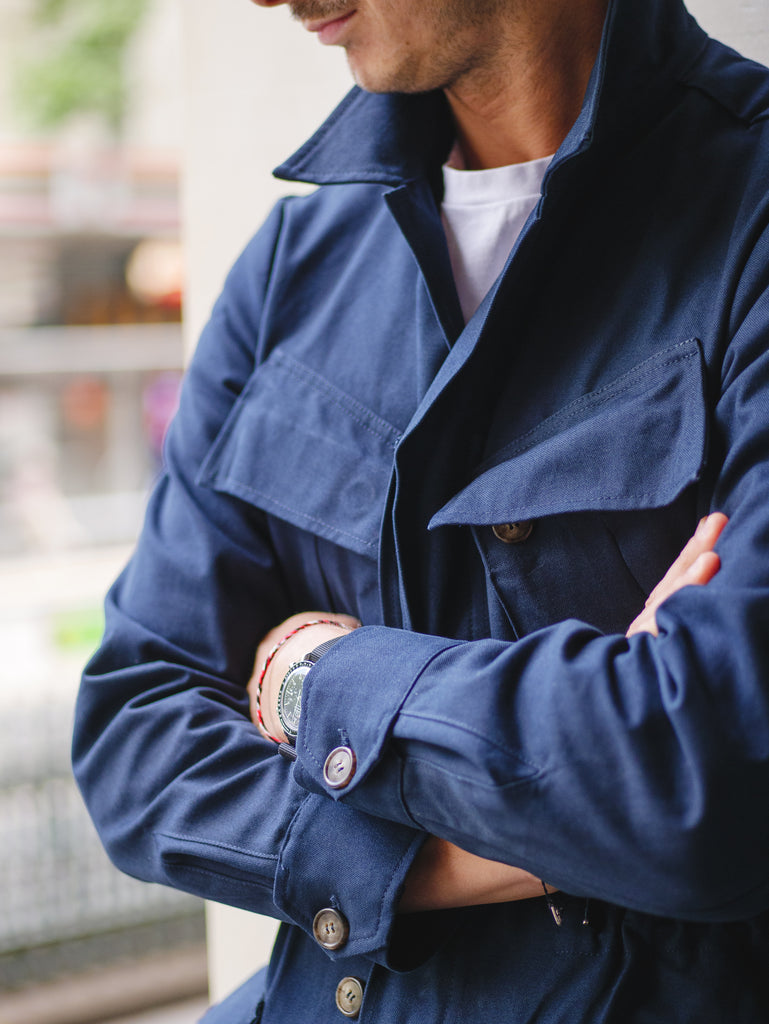J002 Jungle Jacket - Navy