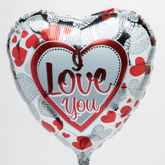I Love You Mylar Balloon