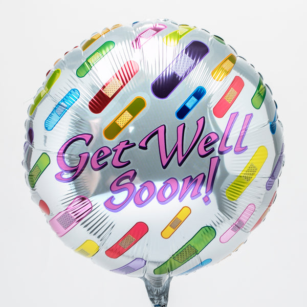 Get Well Soon Mylar Balloon