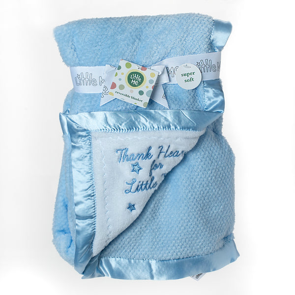 Little Me Baby Blankets Blue