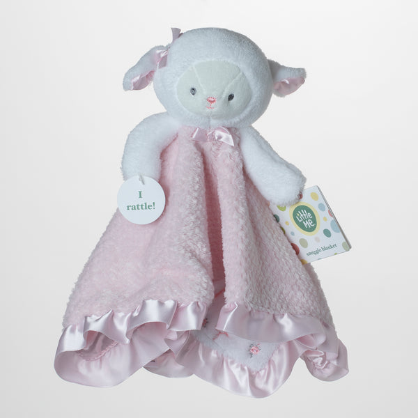 Baby Snuggle Blankets Pink