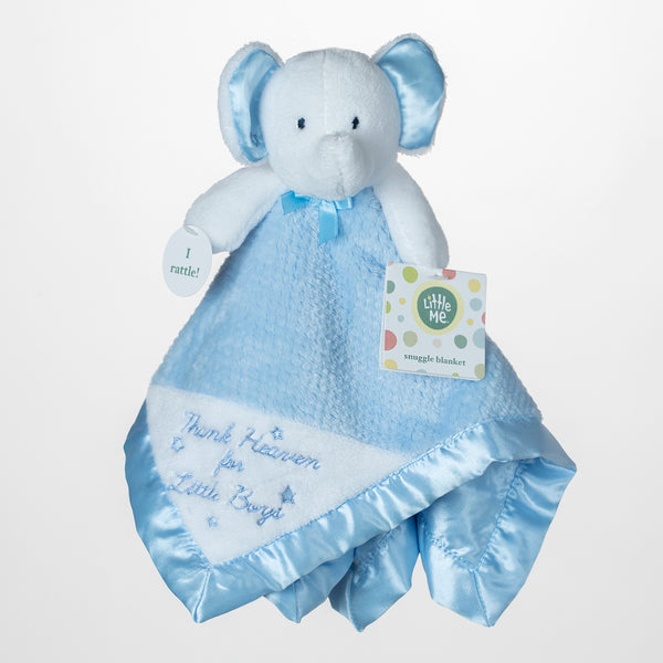 Baby Snuggle Blankets Blue