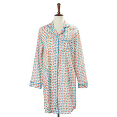 Women's Long Sleeve Night Gown