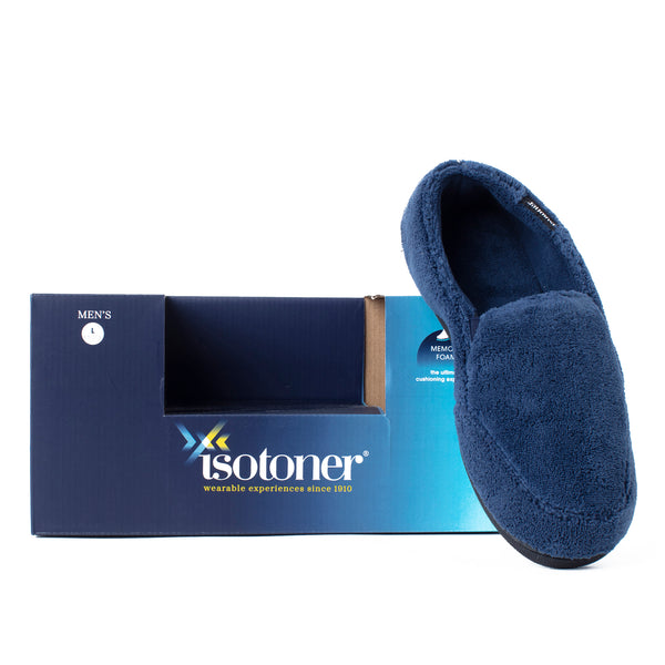 Isotoner Men's Slip-On Slippers