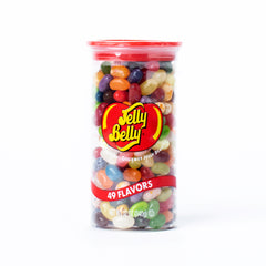 Jelly Belly 49 Flavors Clear Can, 12 oz.