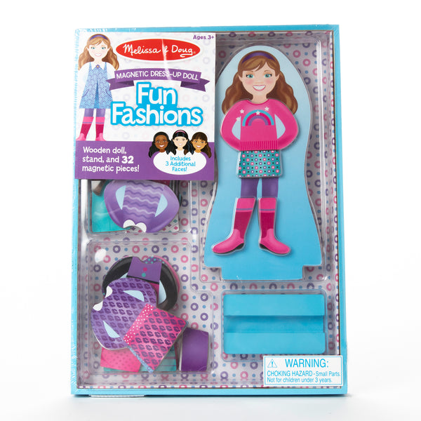 Wooden Magnetic Dress-up Kit