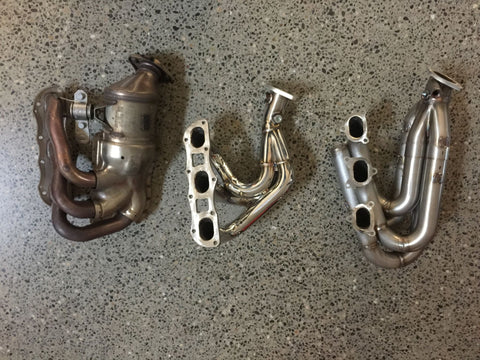 dundon gt4 race headers vs competition