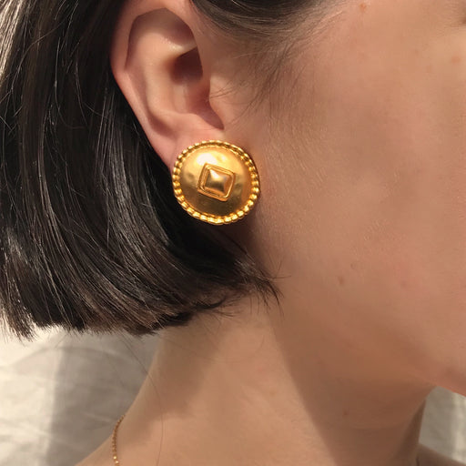 Goldie Vintage Earrings
