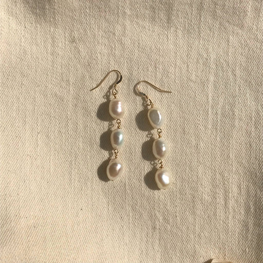 Rita Pearl Earrings