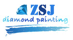 diamond painting zsj free shipping