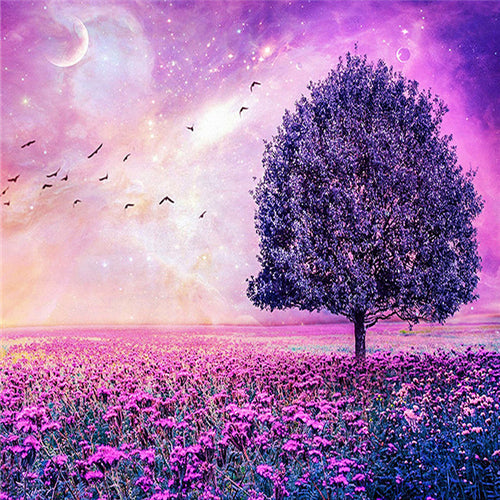 Purple Theme Tree