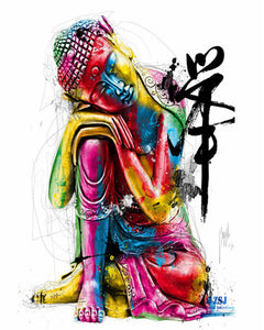 Colored Buddha Statue