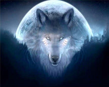 Load image into Gallery viewer, Wolf in the Moon