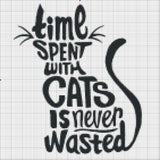 Time Spend with Cats Is Never Wasted