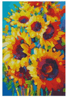 Oil Painting Sunflower