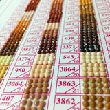 DMC 813-918 Colors Diamond Beads (Standard Color)
