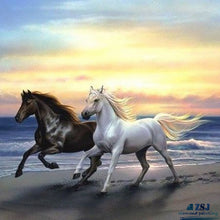 Load image into Gallery viewer, Horses On The Beach
