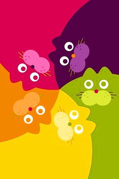 Five Cats Pattern