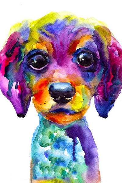 Watercolor Puppy