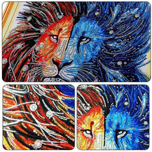 Load image into Gallery viewer, Fire And Ice Lion