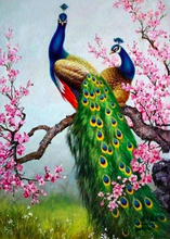 Load image into Gallery viewer, Peacock -Diamond Painting Kit