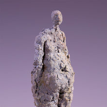 Load image into Gallery viewer, Concrete abstract female figure sculpture