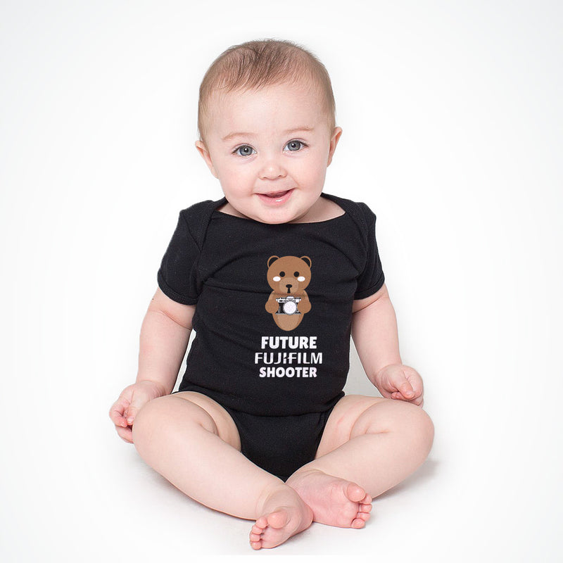 FUJIFILM FUTURE SHOOTER BABY ONESIE - BLACK