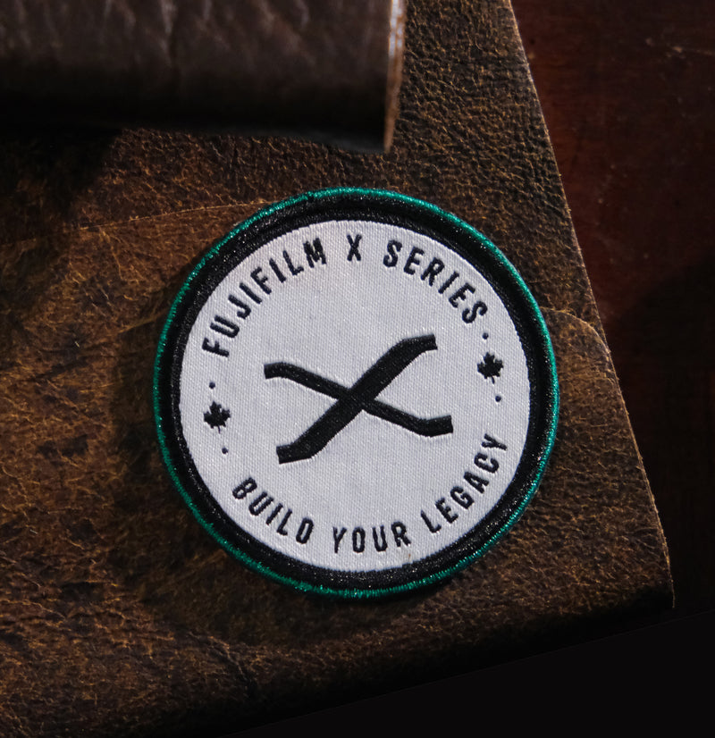 FUJIFILM X SERIES - BUILD YOUR LEGACY WOVEN PATCH