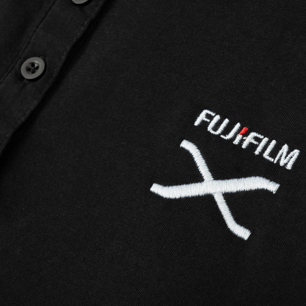 FUJIFILM X SERIES MEN'S POLO - BLACK