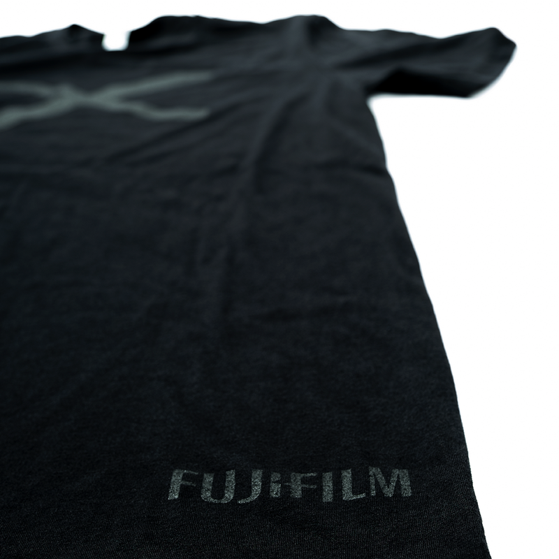 FUJIFILM X SERIES MEN'S TONE ON TONE T-SHIRT - BLACK