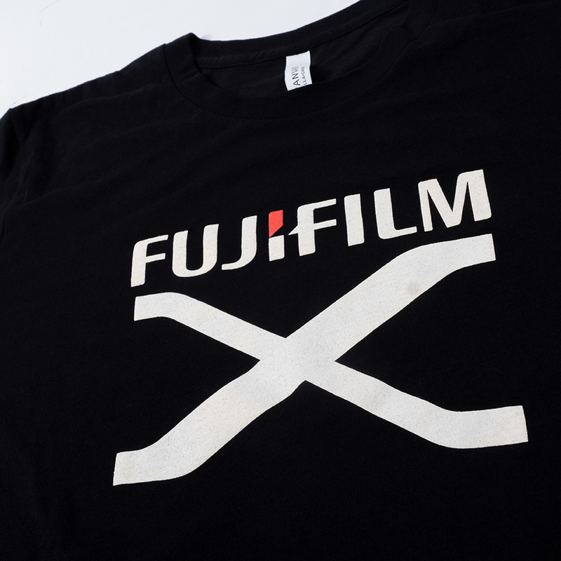FUJIFILM X SERIES T-SHIRT - BLACK
