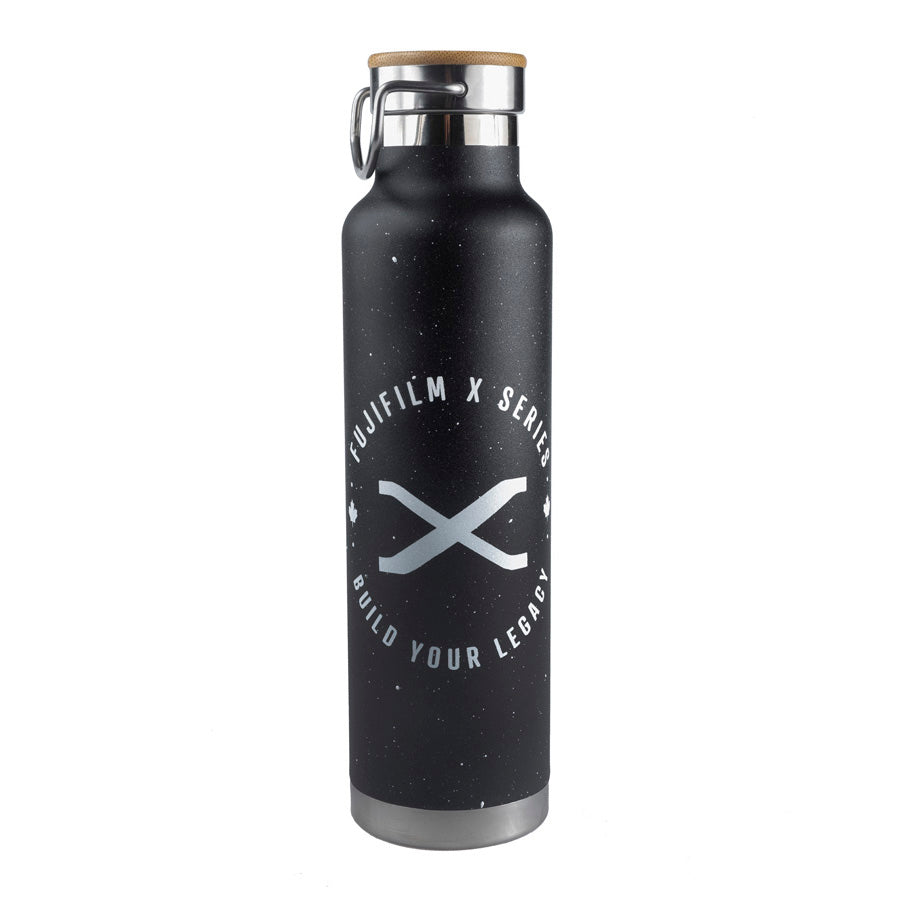 FUJIFILM X SERIES - BUILD YOUR LEGACY BOTTLE - BLACK